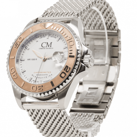 Maybach Gentle Watch with Steel Strap
